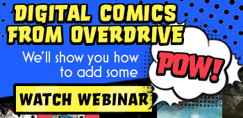 Digital Comics from OverDrive: We'll show you how to add some POW! (October 2020)