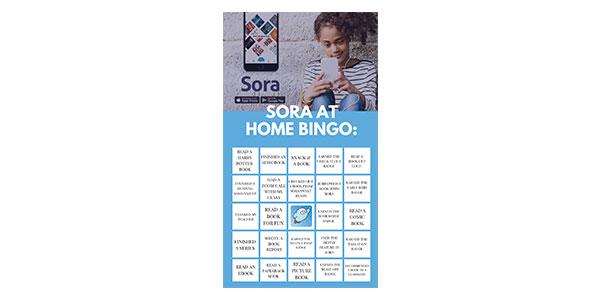 Sora at Home BINGO graphic